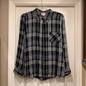 HOST PICK🌟NWOT Style & Co. Plaid Shirt